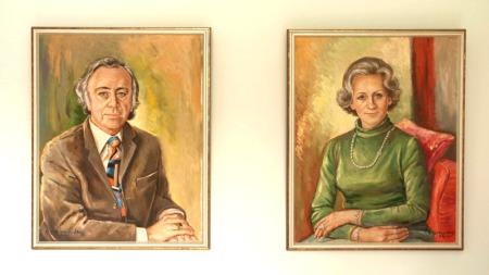 Firmengründer Willy Möller und Ehefrau Elfriede Möller